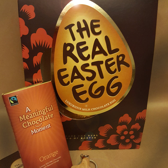 Not on the Highstreet (a unique crafted finest chocolate egg)