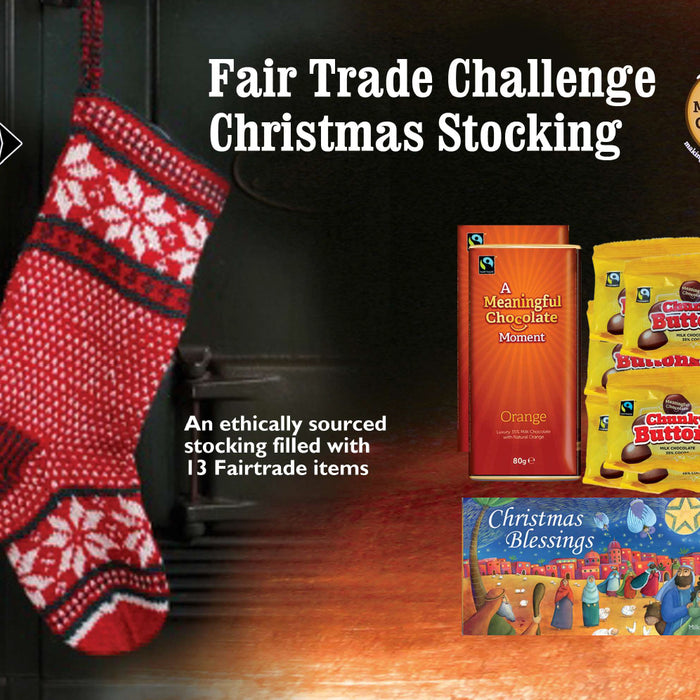 Fair Trade Challenge Christmas Stocking launches
