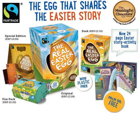 Real Easter Egg Meaningful Chocolate