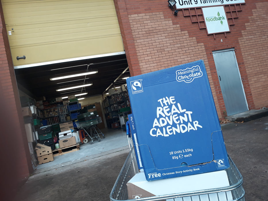 Real Advent Calendar (Sponsor small pallet to a food bank)