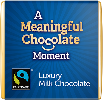 Milk Meaningful Chocolate Thin Squares