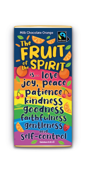 Fruit of the Spirit Orange Milk Bar (Case of 12)