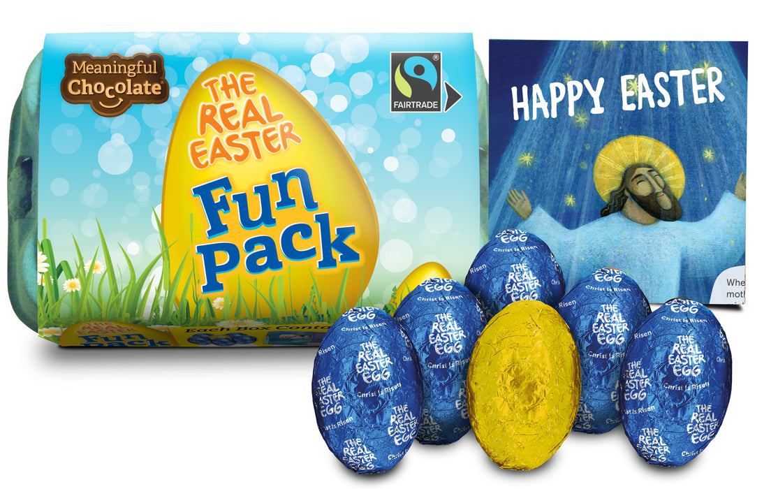 Real Easter Eggs Fun Pack (Case of 15)