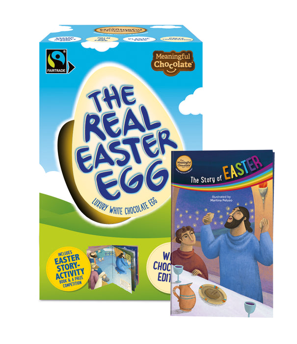 Real Easter Egg White Edition single