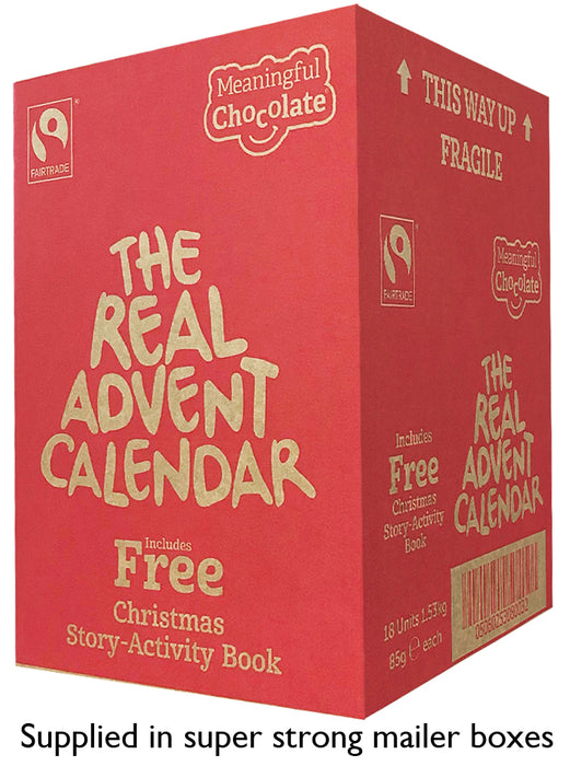 Real Advent Calendar Case of 18 (£3.99 per calendar)