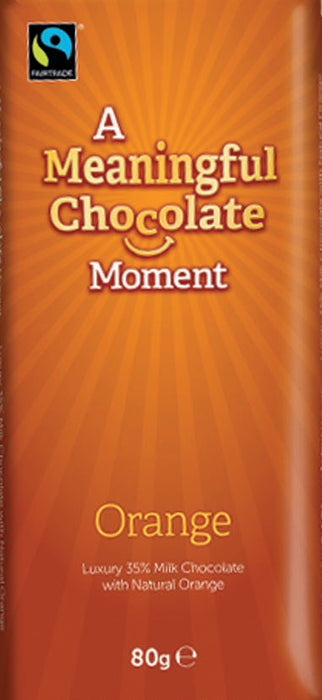 Meaningful Moment - Milk Orange (case of 12 bars)