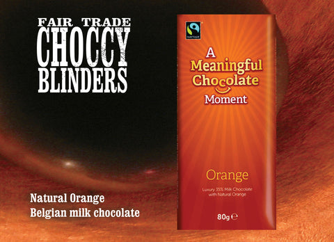 Bar Meaningful Milk Orange (case of 12 bars)