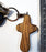 Holy Land Olive Wood Cross (Single)