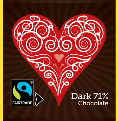 Dark Heart Square Collection (21 per box)