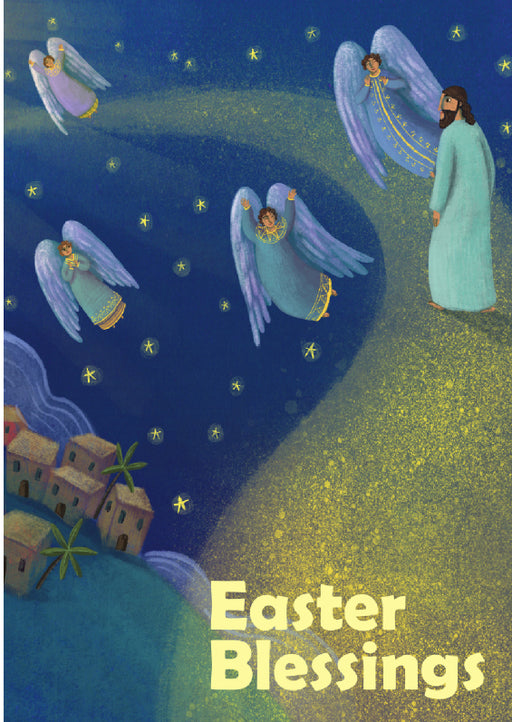 Personalised Easter Blessings Card 1