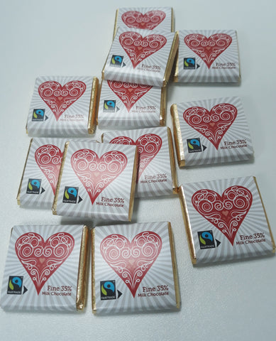 Heart Milk Square Collection (120 pieces)
