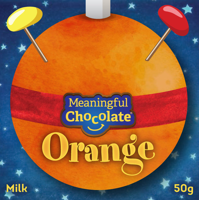 Chocolate Orange Christingle (case of 24)