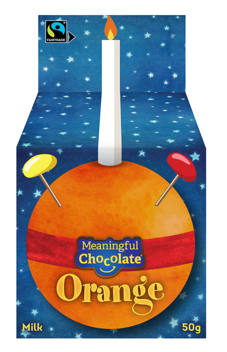 Chocolate Orange Christingle (single)