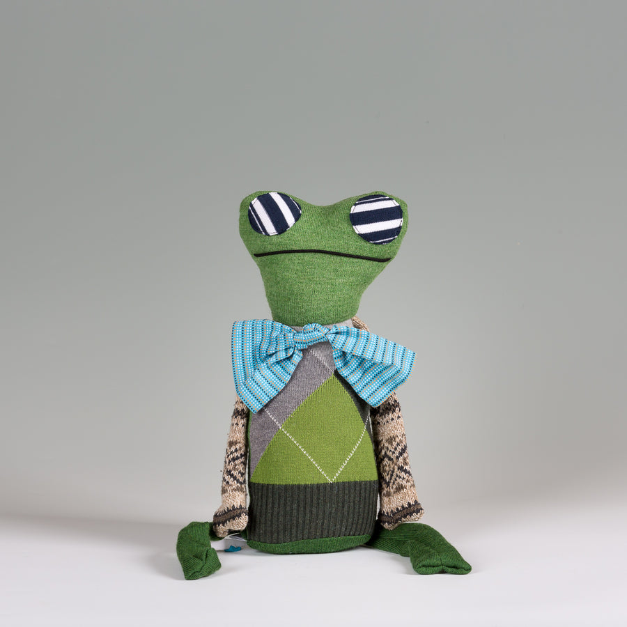 Cooper the Frog  - Stuffed Animal