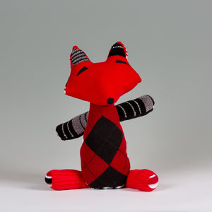"""Mister Red "" the Fox - Stuffed Animal"
