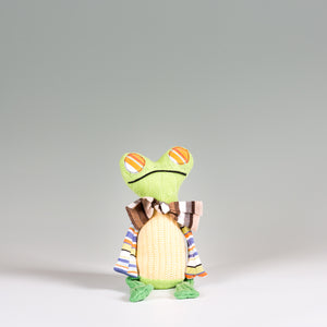 """Professor Frog"" - Stuffed Animal"