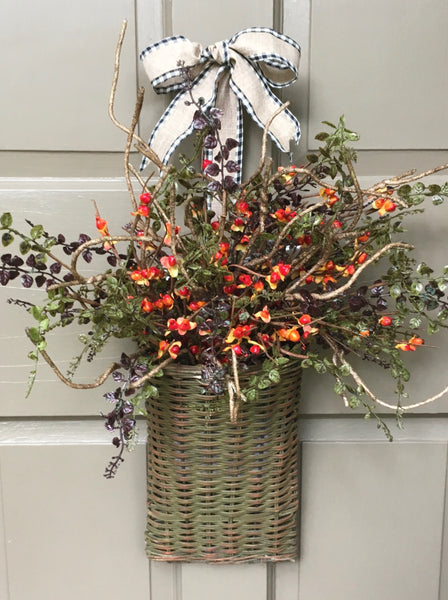 Bittersweet Door Basket-Medium