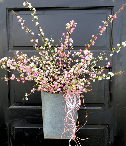 Cherry Blossom Door Planter
