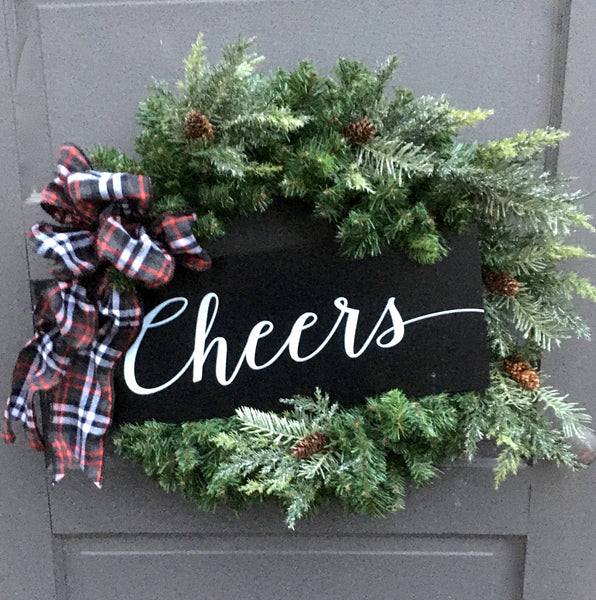 Cheers Wreath