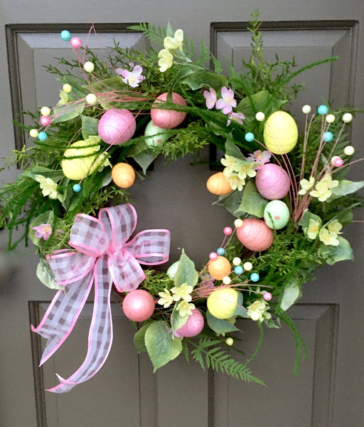 Prettiest Easter Egg Wreath