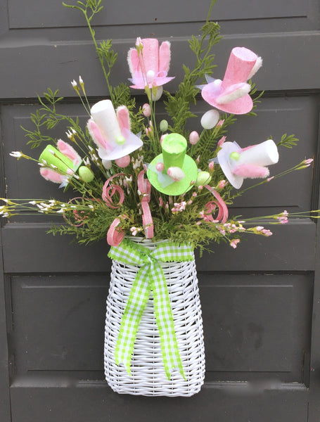 Adorable Easter Door Basket