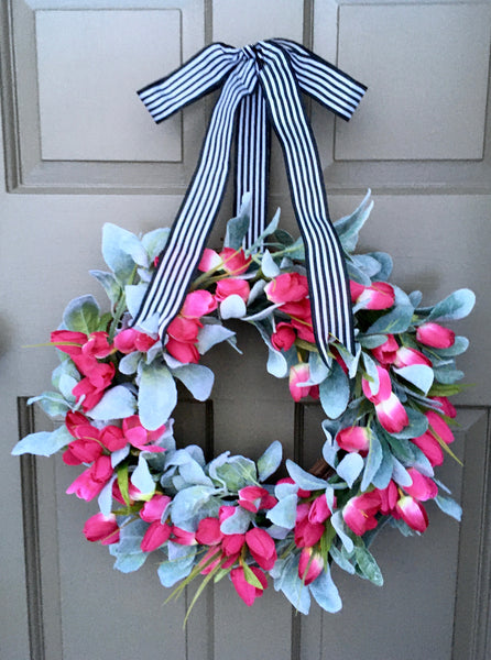Lovely Tulip Wreath