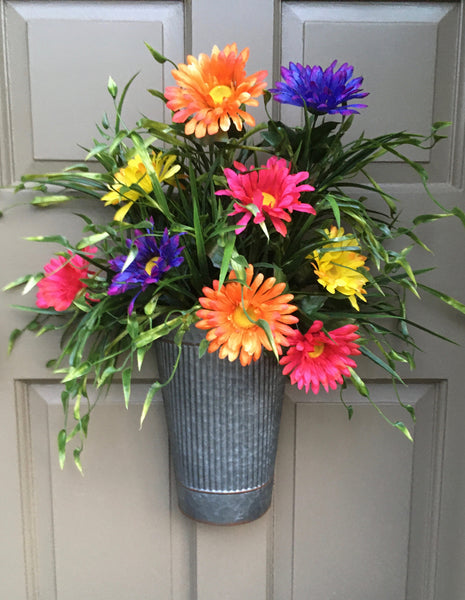 Summer Flower Door Planter