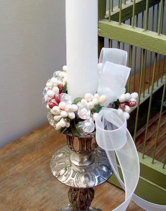 Pearl Candle Ring