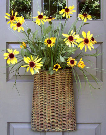 Wildflower Door Basket