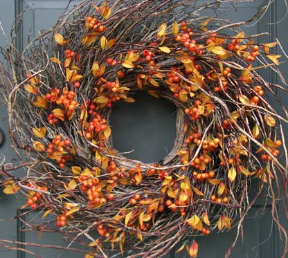 Autumn Berry Wreath-large