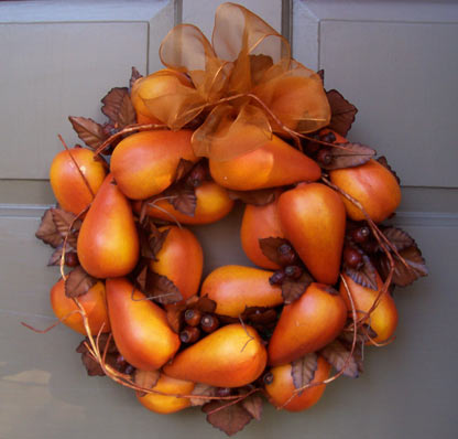 Pear Wreath-medium