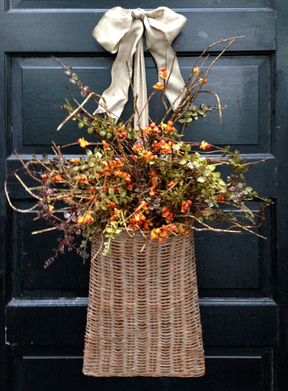 Bittersweet Door Basket
