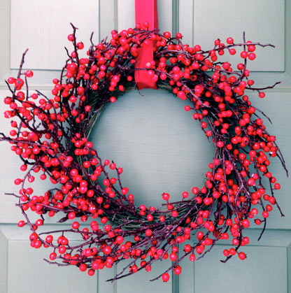 Lovely Red Berry Wreath