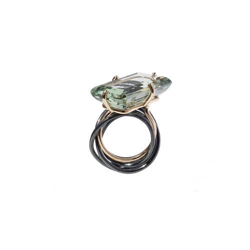 aurora light green ring