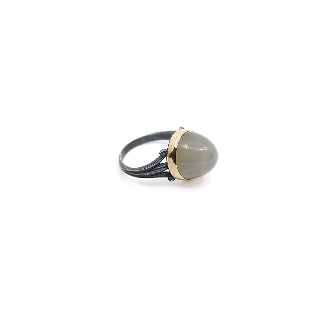 aurora grey ring