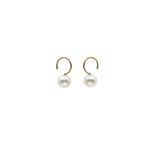 classic maxi pearl earrings