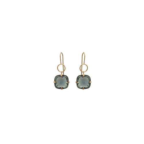 dust blue earrings