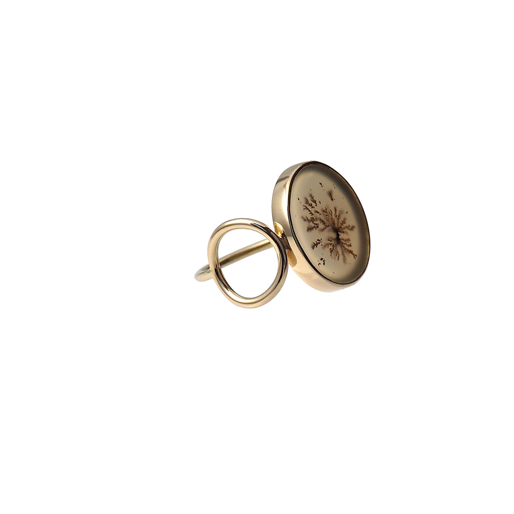 dandy side circle ring