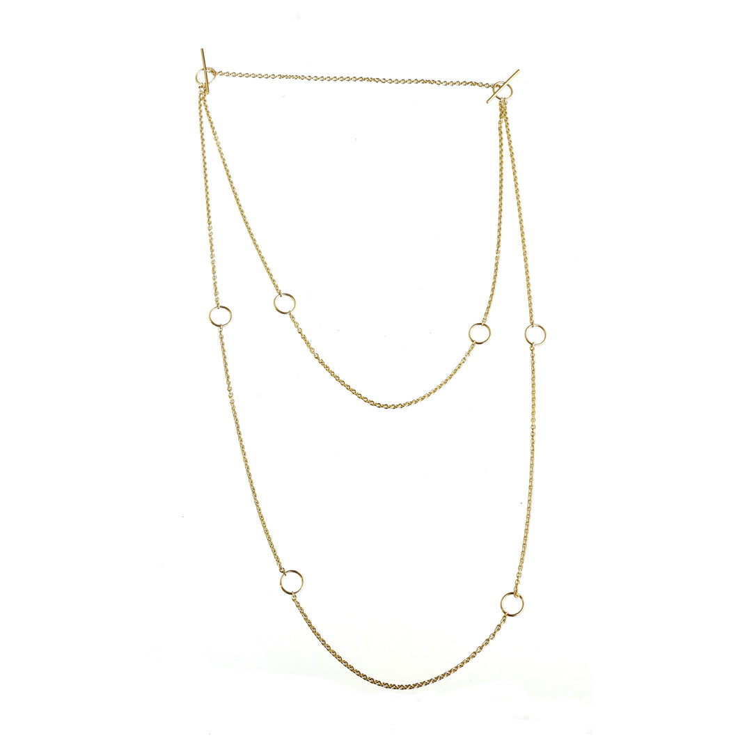 sade gold multi use chain