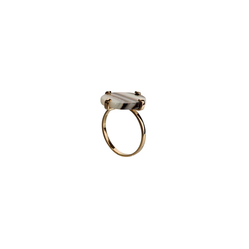 sade white ring