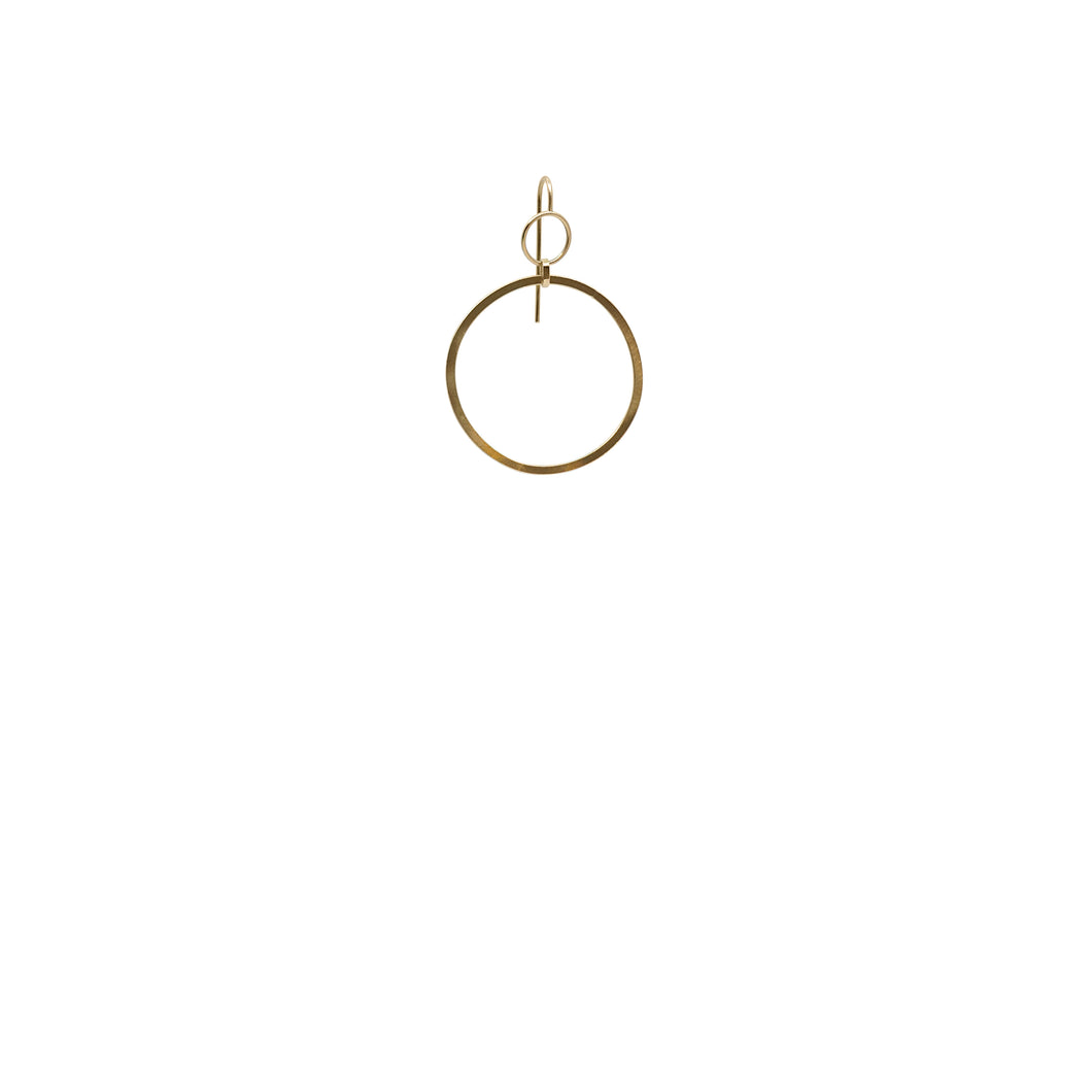 totem gold hoops