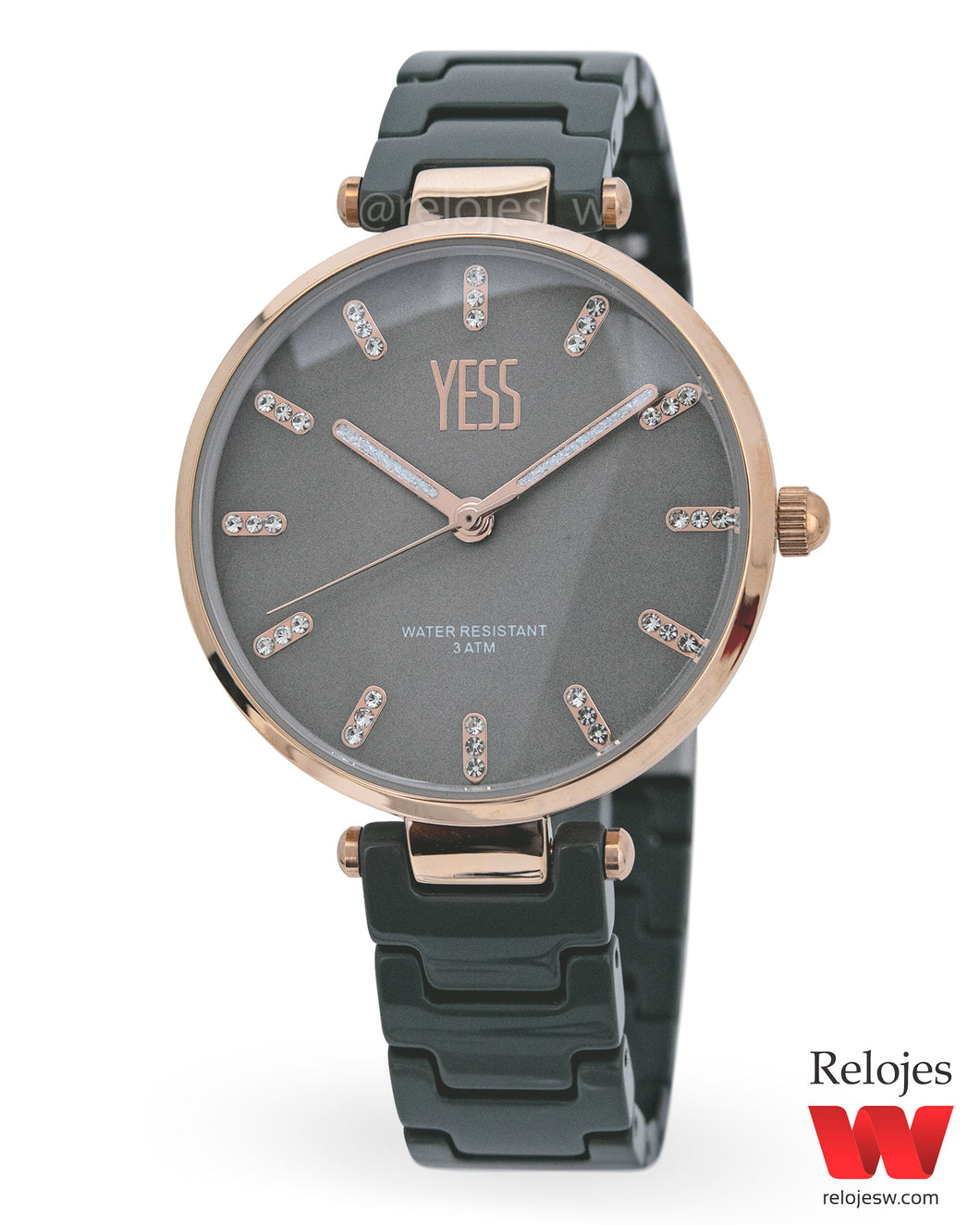 Reloj Yess Mujer S17236S Gris Oro Rosa