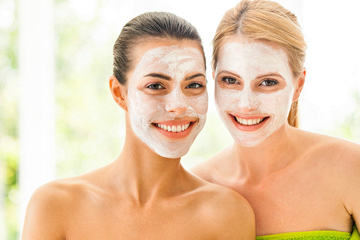 Facial mask: cleansing, firmness, hydration