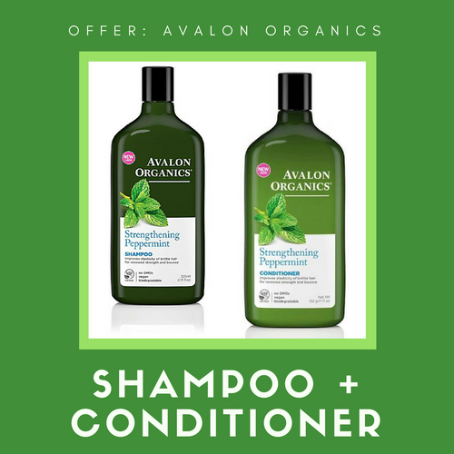 avalon organics shampoo conditioner