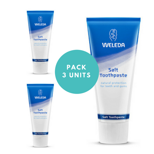 weleda salt toothpaste dental care