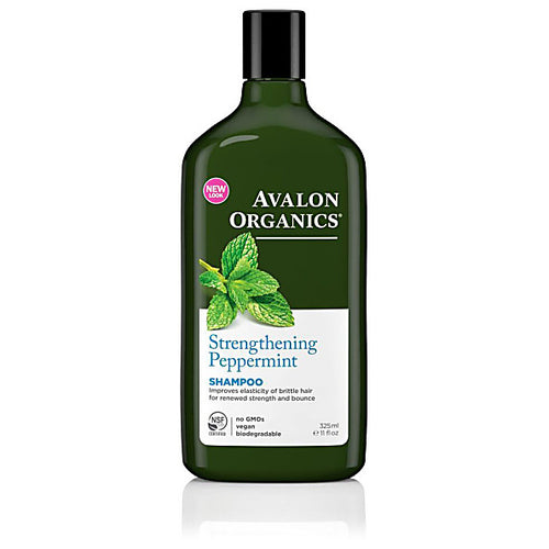 Avalon organics hair care shampoo peppermint