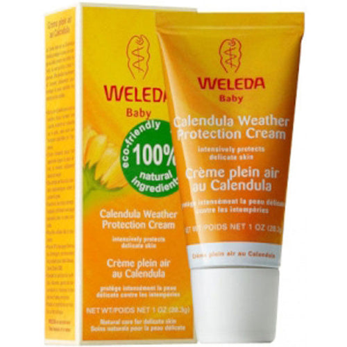 weleda calendula baby cream weather protection