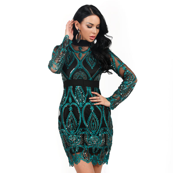 ADELYN MINI DRESS- Viaz
