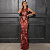 STEPHANY MAXI DRESS Online-VIAZ