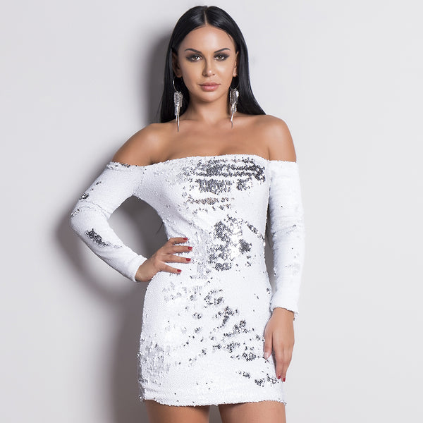 ELEANOR MINI DRESS- Viaz
